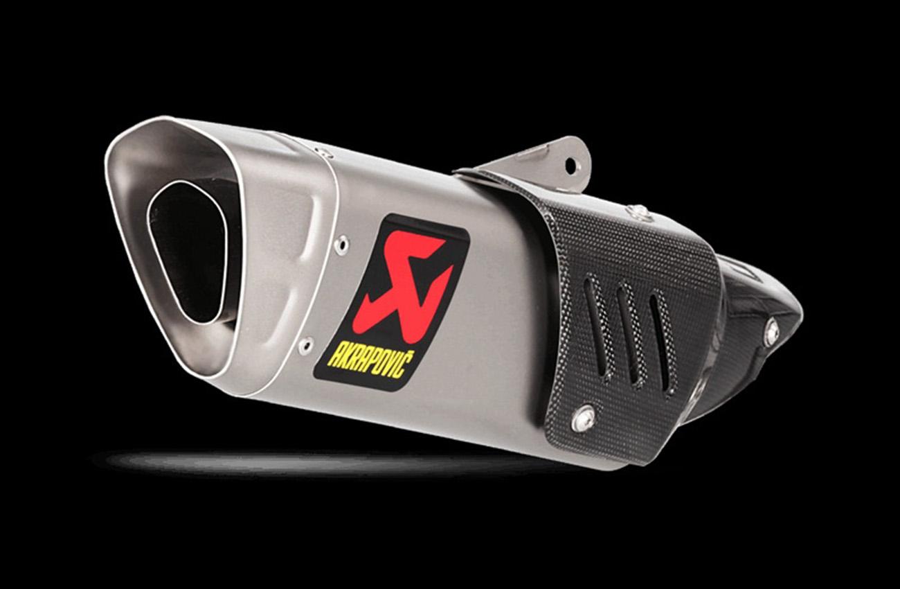 Silenciador Slip-On de Akrapovič para la Yamaha MT-10 de la mano de Parts Europe