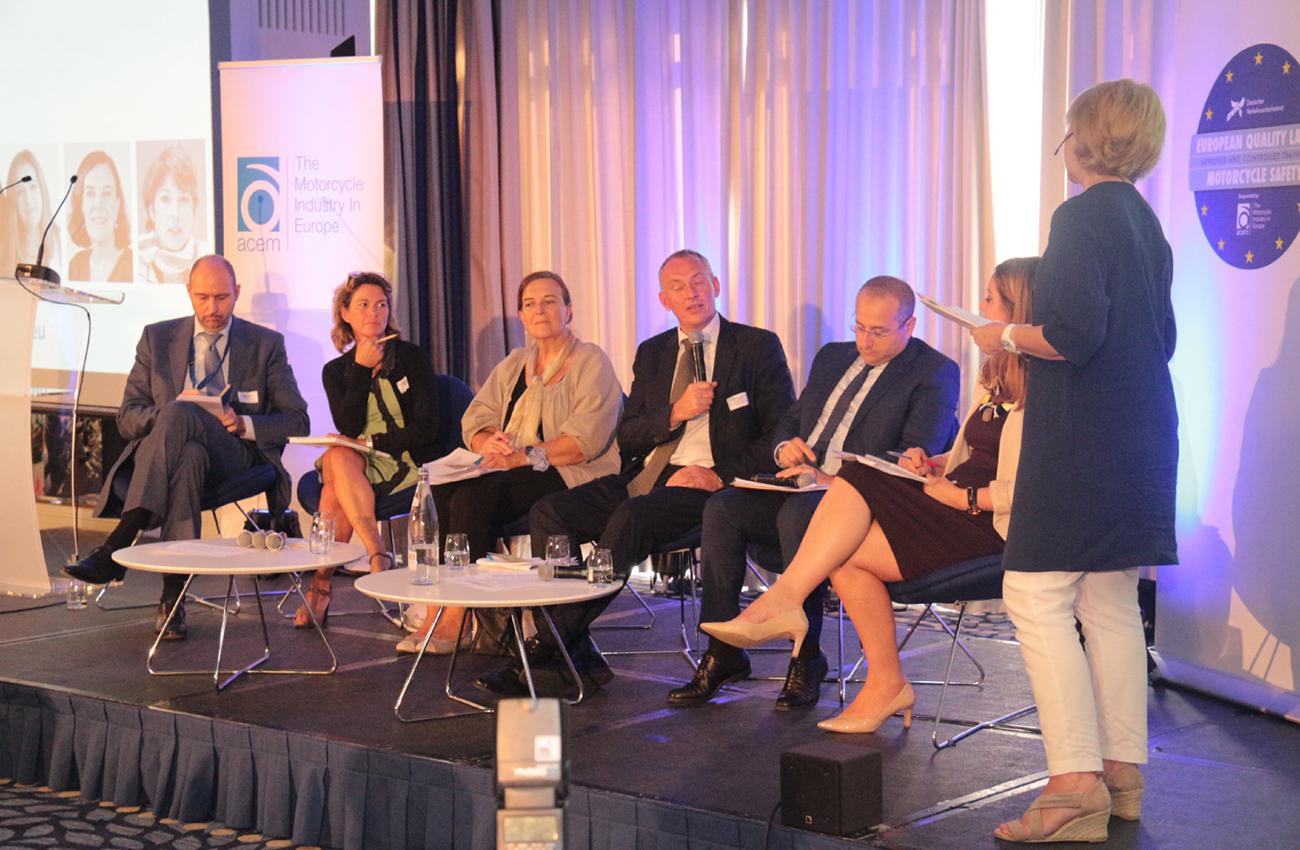 La Conferencia Anual de ACEM reflexiona sobre la seguridad de los motoristas