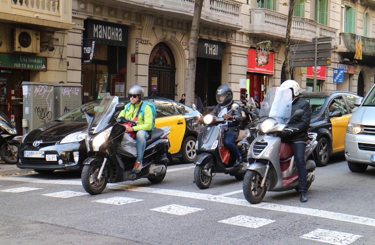 La moto, vehículo clave para una movilidad sostenible