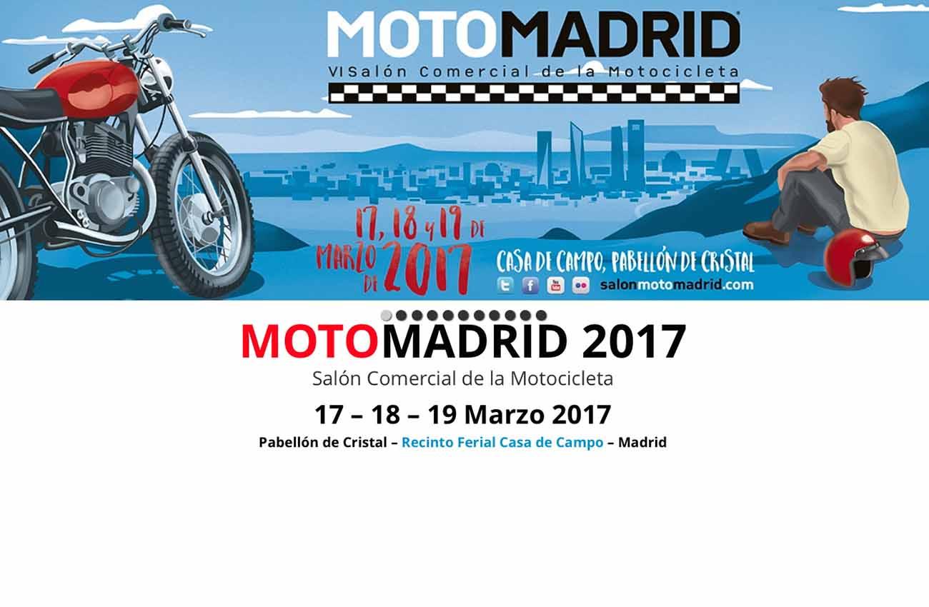MotoMadrid 2017 inicia el proceso de comercialización