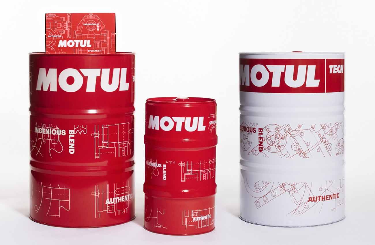 Motul estrena diseño de sus envases
