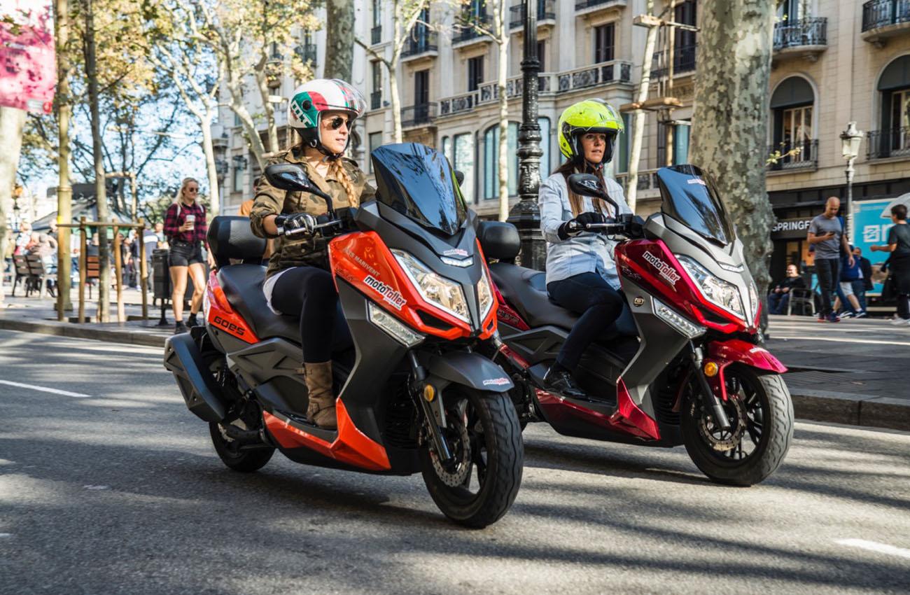 Los scooters Goes se benefician de atractivos descuentos