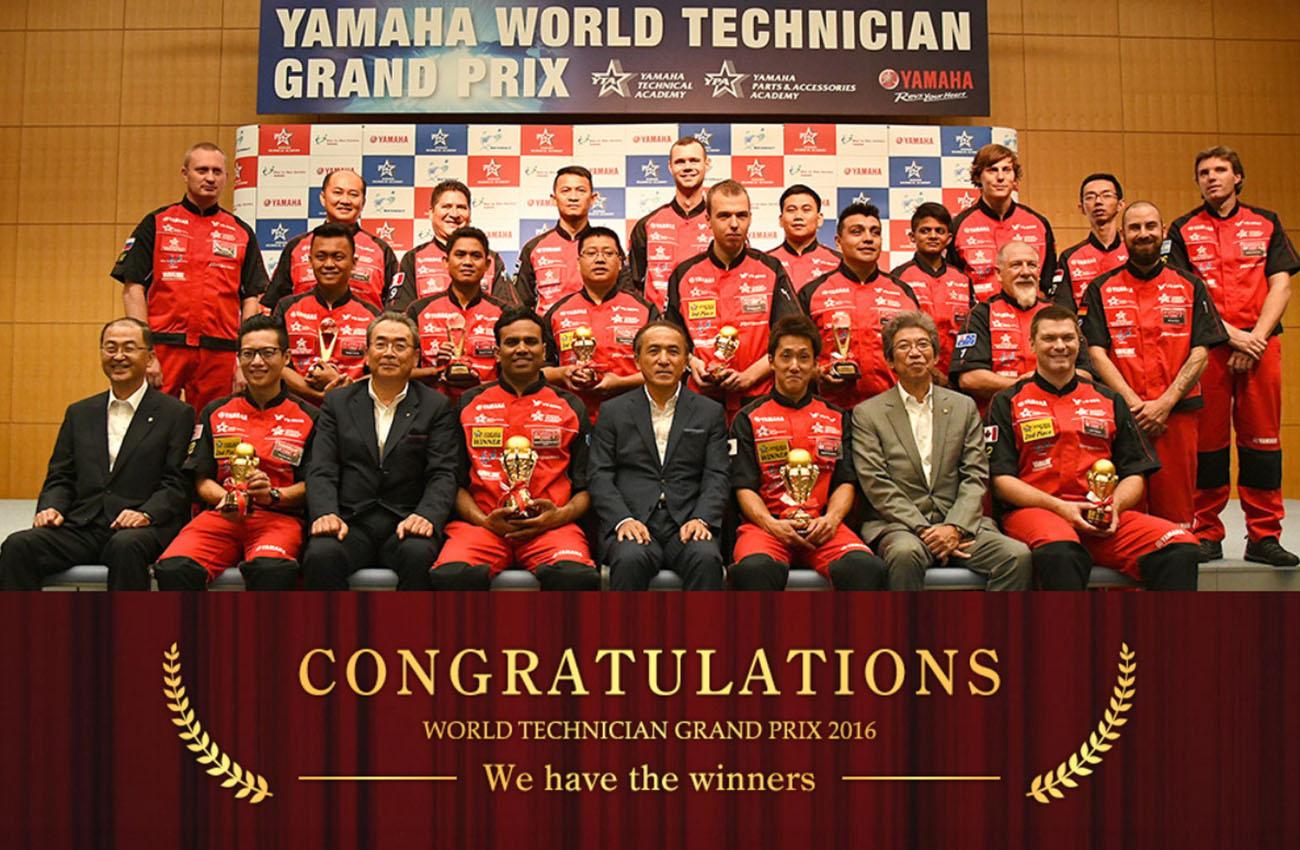 Los mejores mecánicos del mundo de Yamaha son un japonés y un indio