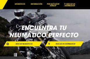 Más asesoramiento a los motoristas en la nueva web de Dunlop
