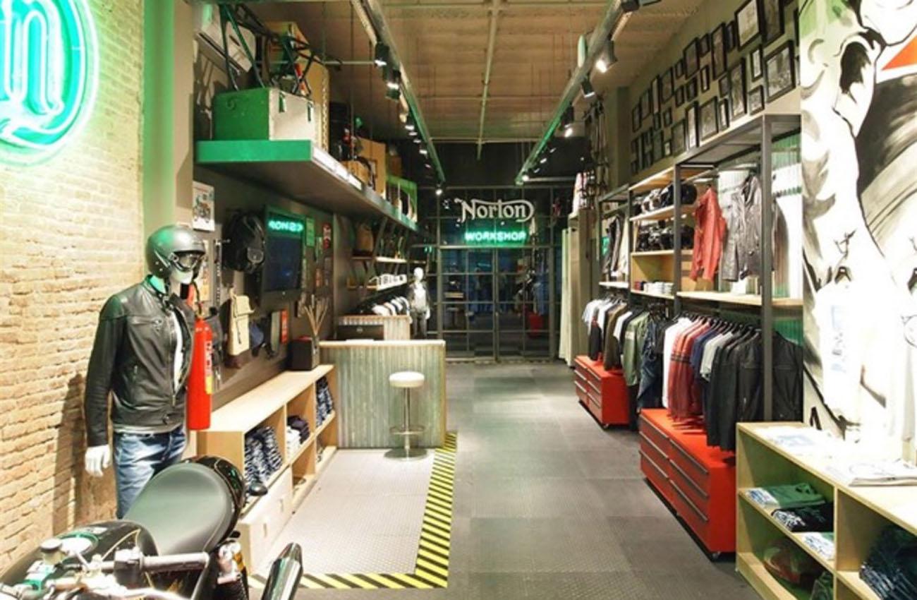 Norton abre una tienda de ropa en Barcelona