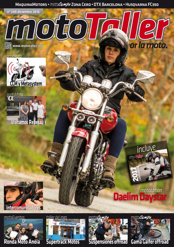 MotoTaller 249 – diciembre 2016