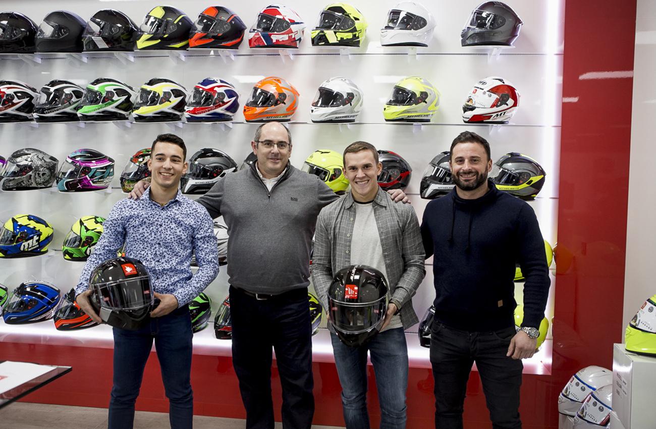 MT Helmets patrocinará al equipo RBA Racing Team de Moto3