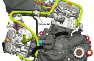 motoConsejo Texa: realizar comprobaciones en la válvula de aire secundario mediante autodiagnosis en una Ducati Hypermotard 821