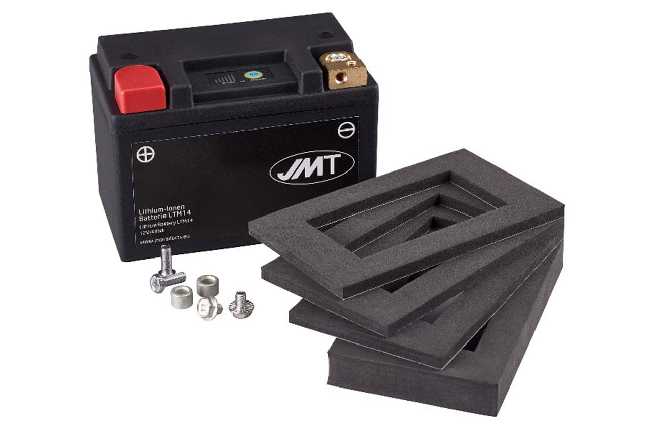 Nuevas baterías de litio JMT de la mano de Larsson