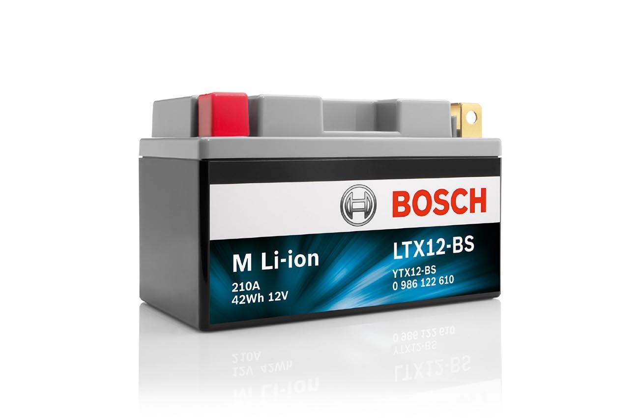 88ea1639643 Iones de litio para la última batería de moto Bosch | MotoTaller.info
