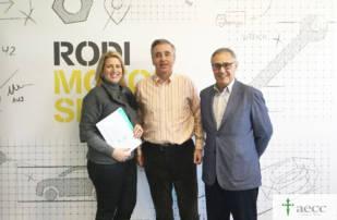 Rodi Motor Services recauda 7.000 euros para la Asociación Española Contra el Cáncer