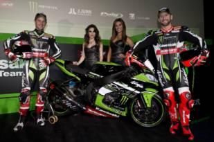 Kawasaki Racing Team WSBK presenta pilotos y ninjas