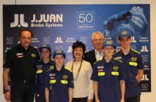 La escudería ETG Racing se presenta en J.Juan