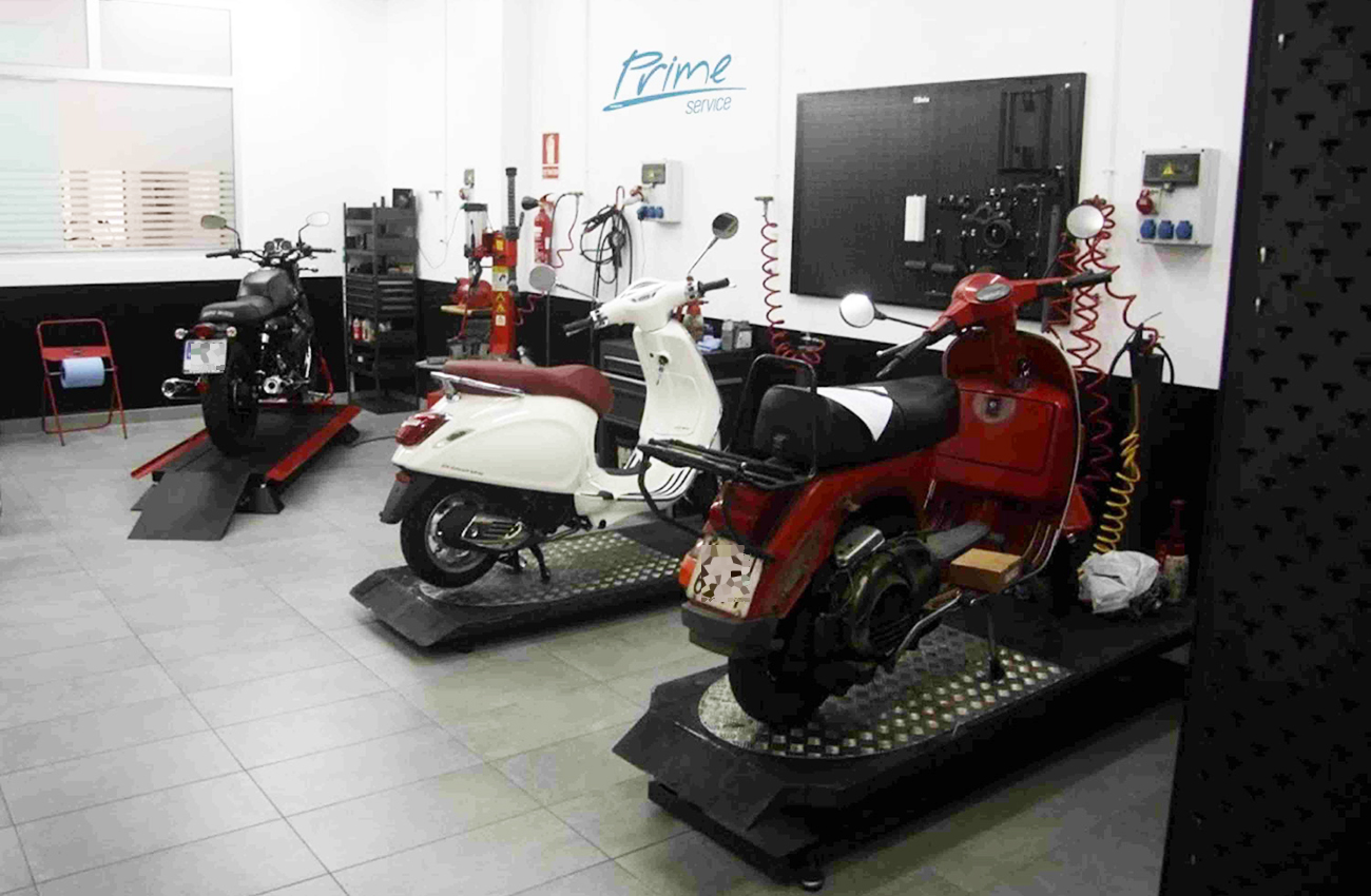 Grupo Piaggio y su servicio de asistencia posventa Piaggio Prime Service
