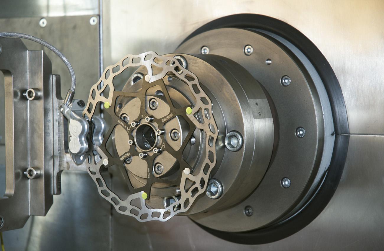 Galfer se dota con un nuevo banco de pruebas inercial de última tecnología