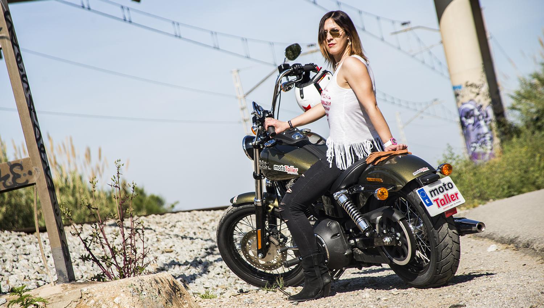Harley Davidson Street Bob: prueba