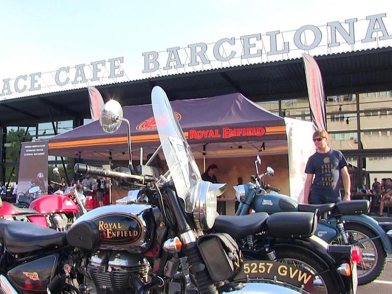 Fiesta Royal Enfield en el Ace Cafe Barcelona