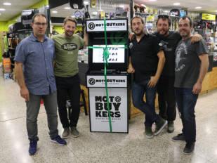 Motobuykers inaugura punto de servicio en Iguana Custom Barcelona