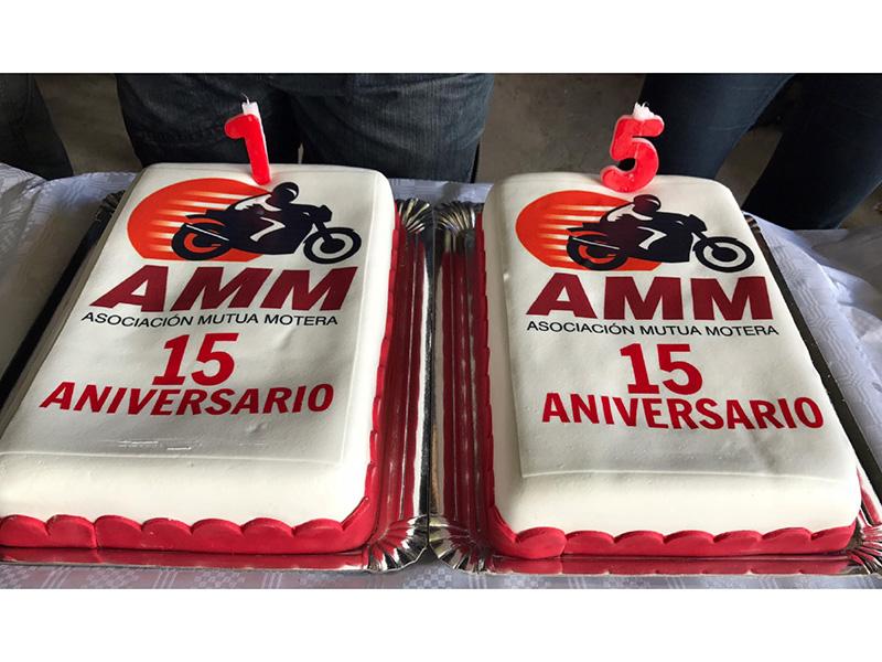 La Asociación Mutua Motera (AMM) celebra su 15º aniversario