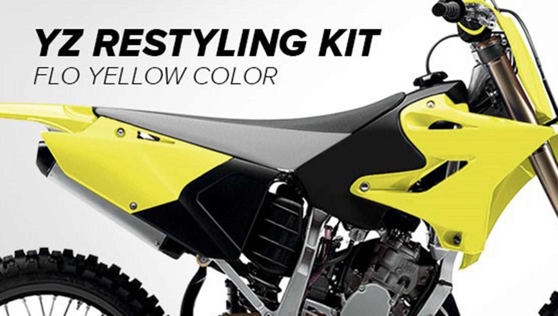 Polisport viste de amarillo a la gama Yamaha YZ de off road