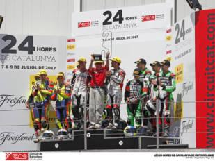 El equipo Yamalube Folch Endurance se impone en unas 24 Horas de Catalunya de Motociclismo marcadas por el accidente mortal de Enric Saurí