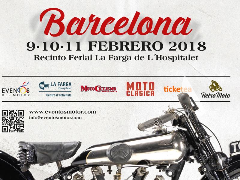 La tercera edición de RetroMoto Barcelona ya tiene cartel
