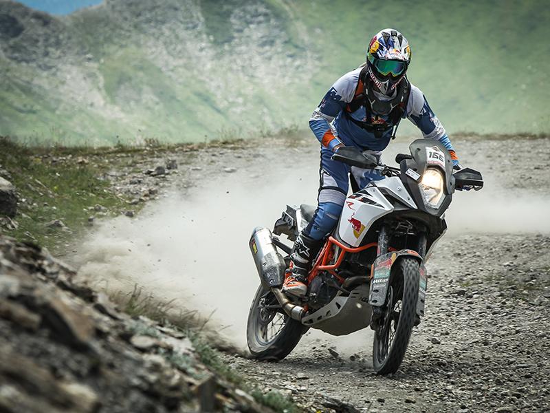 Gran éxito del primer KTM Adventure Rally Europeo