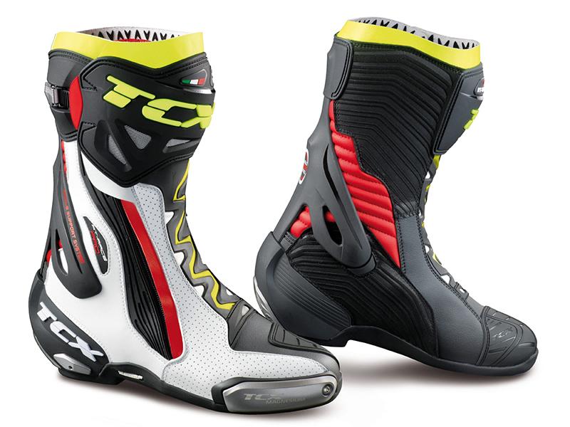 De los circuitos a la carretera con las botas deportivas TCX RT-Race Pro Air