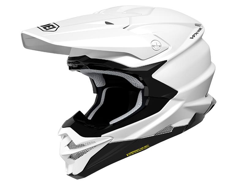 Corver presenta el último casco Shoei para off road, el VFX-WR