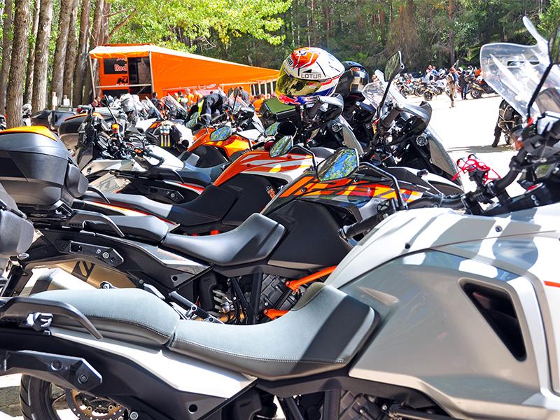 Gran éxito de la IV Reunión KTM Adventure