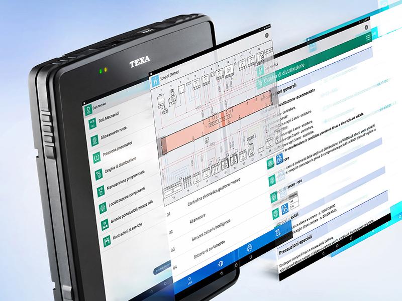 Una avanzada herramienta para los talleres de motos, el nuevo equipo de diagnosis Axone 5 de Texa