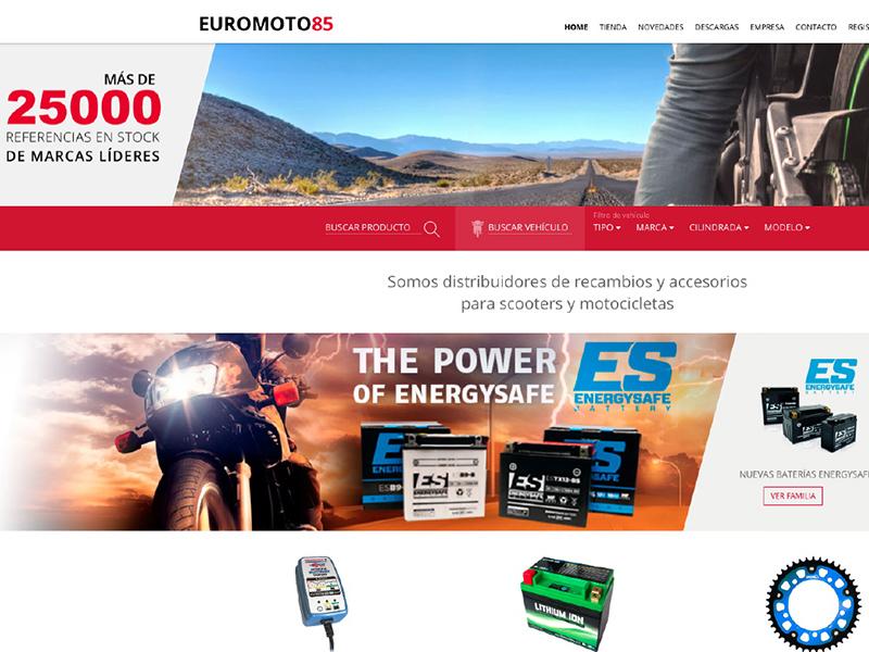 Euromoto85 estrena página web