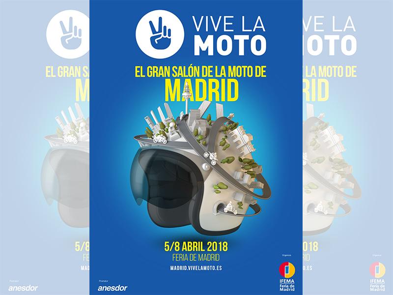 Vive la moto, el gran salón de la moto vuelve a Madrid