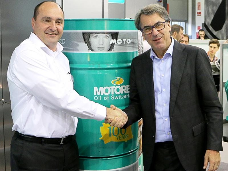 El primer llenado de aceite de toda la gama Husqvarna será Motorex