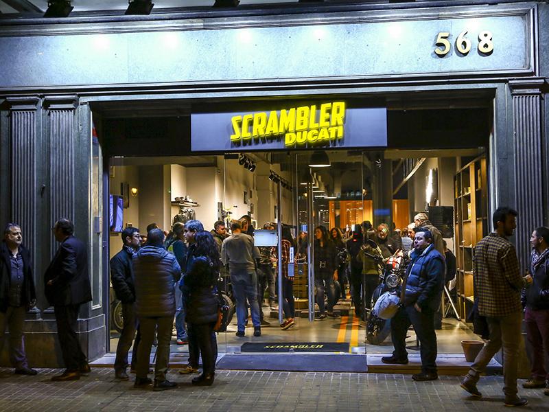 Scrambler Camp Barcelona, la primera tienda exclusiva Ducati Scrambler