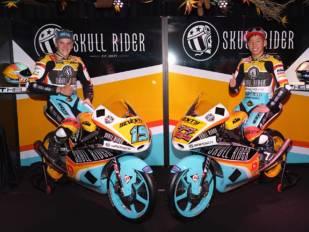 Skull Rider esponsoriza al equipo RBA Boé de Moto3