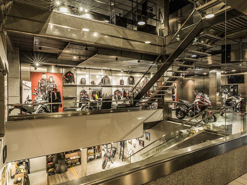Ducati Madrid, el concesionario más grande de la marca italiana en España