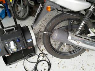 motoConsejo Texa: Concentración de CO superior a lo permitido en ITV en la Yamaha YBR e YS 125 y 250