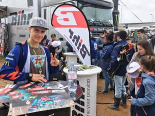 Bihr, protagonista en el Campeonato del Mundo de MXGP