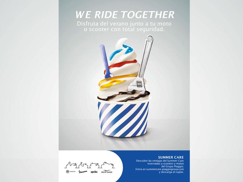 """Grupo Piaggio lanza el programa de servicios posventa """"Summer Care 2018"""""""