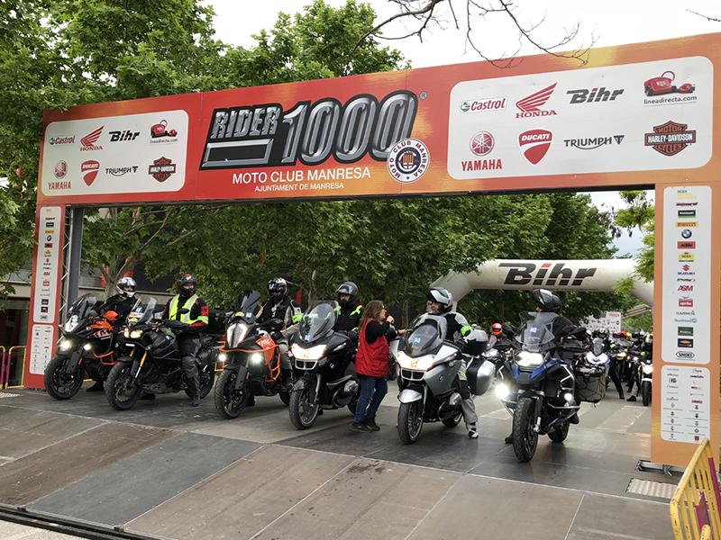 Otro fin de semana rutero, realizamos la Rider 500