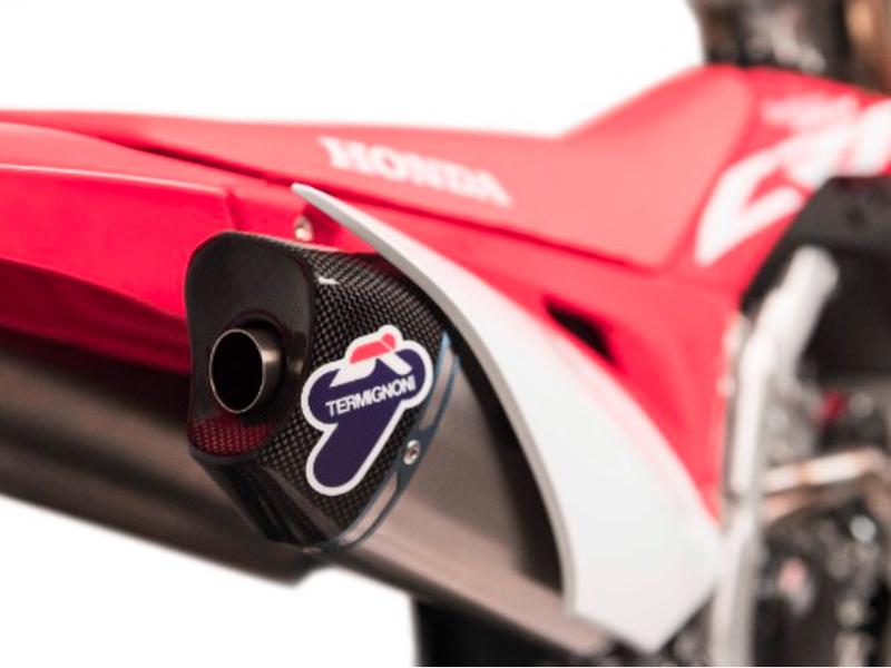 Novedad Termignoni, un sistema completo de escape para las Honda CRF 250 y 450