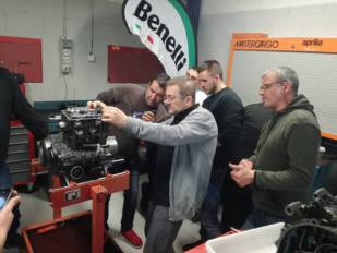 Benelli forma a sus mecánicos en Automotive Technical Projects (ATP)