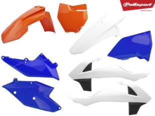 Polisport lanza dos kits de plásticos para KTM