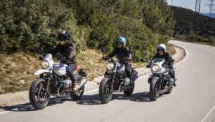 BMW NineT Urban G/S, Racer y Scrambler: ¡Hat trick!