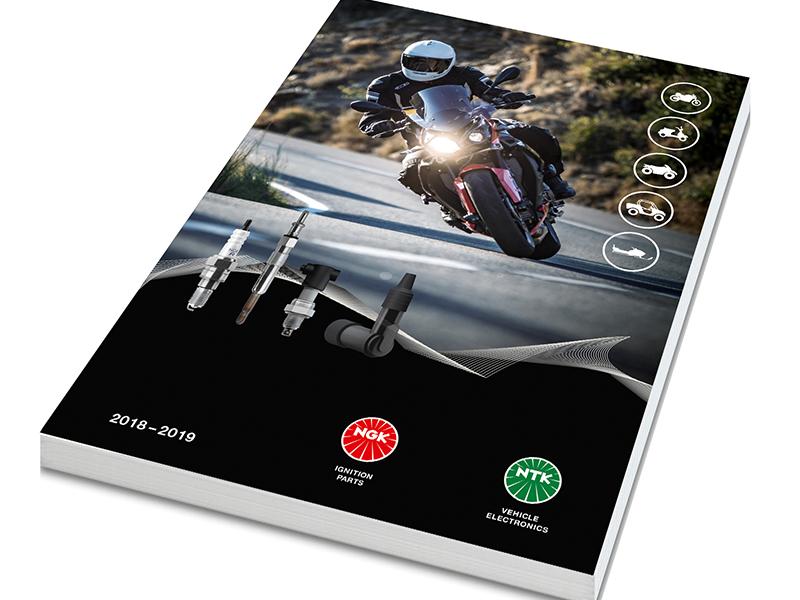 NGK presenta su nuevo catálogo de motocicleta
