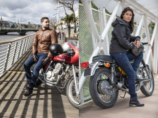 Protección cool con los jeans Monza y Stradale de Overlap
