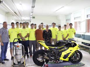 Se presentó el equipo Institut Castellarnau que participará en las AMV 24 Horas de Catalunya de Motociclismo