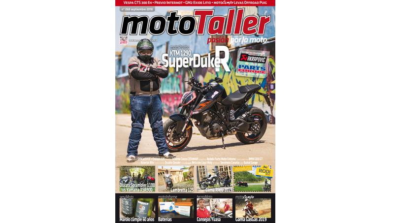 MotoTaller 268 – septiembre 2018