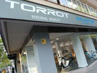 GasGas y Torrot abren una tienda en Madrid